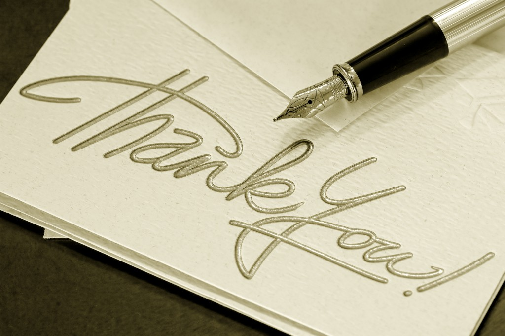 "Why Saying ""Thank You"" is Important"