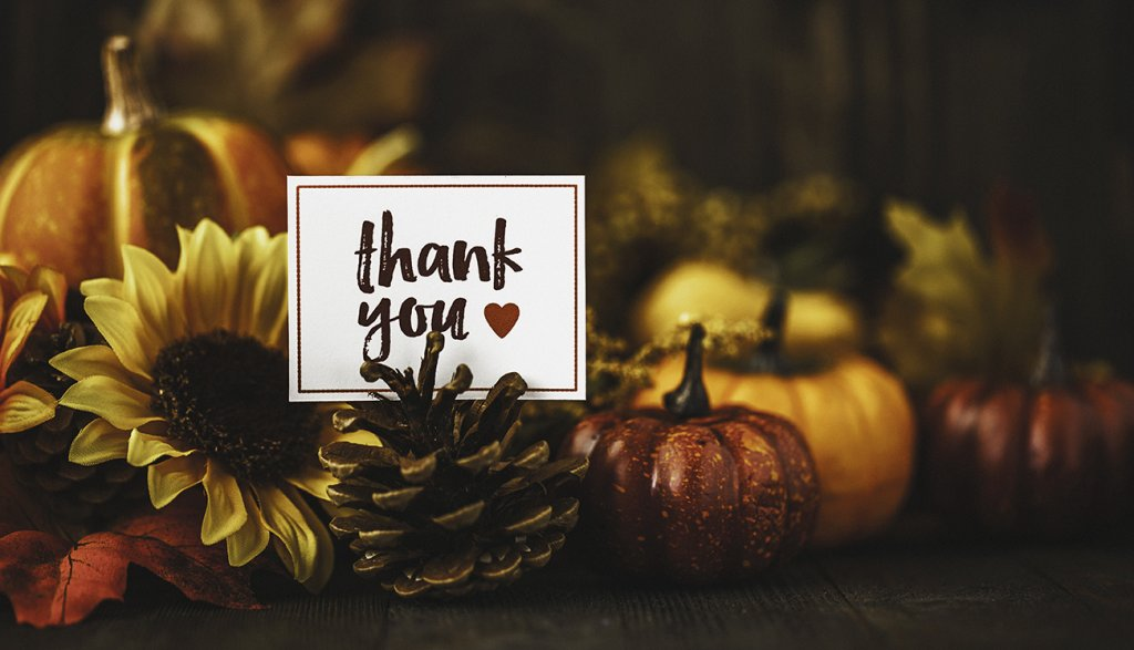 Five Reasons We're Grateful for You!