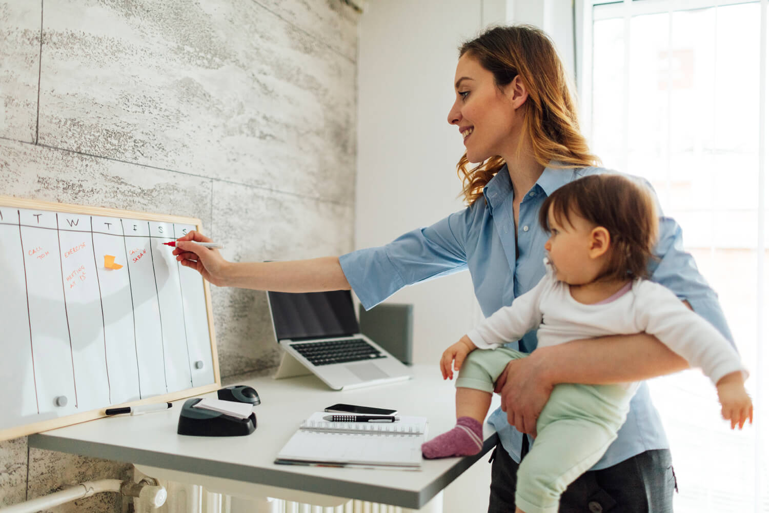 How do Moms Navigate the Work-Life Balance?