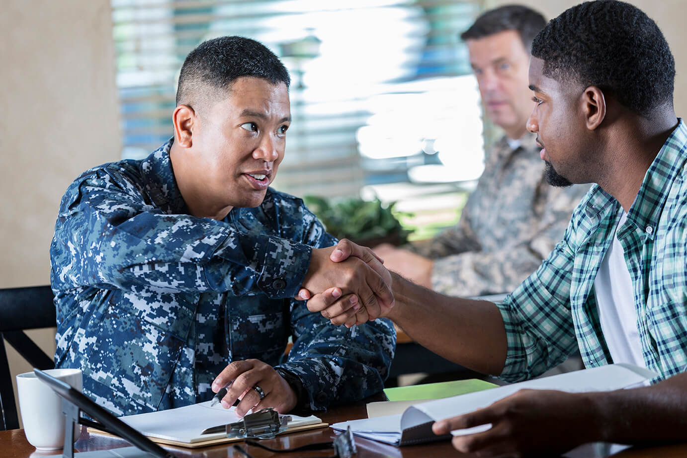 Job Search Tips for Veterans